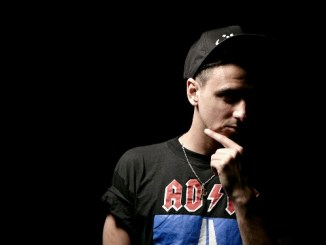 Boys Noize rubbing chin