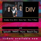 DIIV Brooklyn Night Bazaar