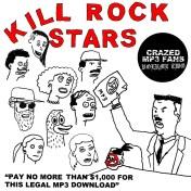 Kill Rock Stars Crazed MP3 Fans Vol. 2 promo