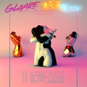 Glaare and Black Mare tour poster