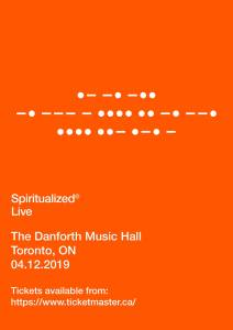 Spiritualized @ Danforth Music Hall