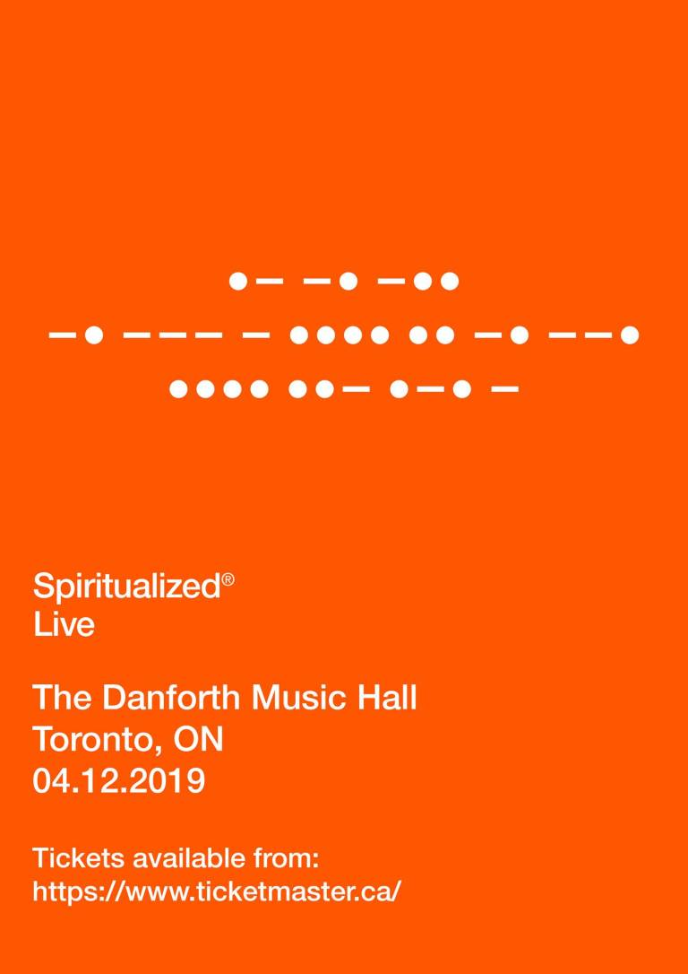 Spiritualized Danforth Music Hall