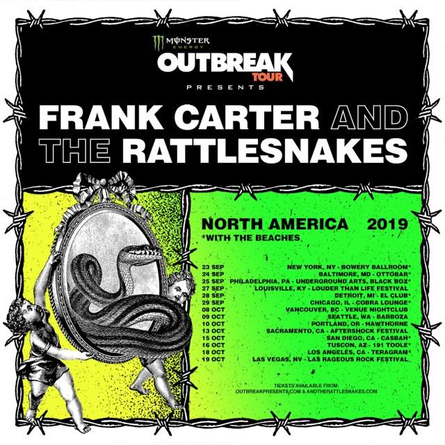 Monster Energy Outbreak Tour poster