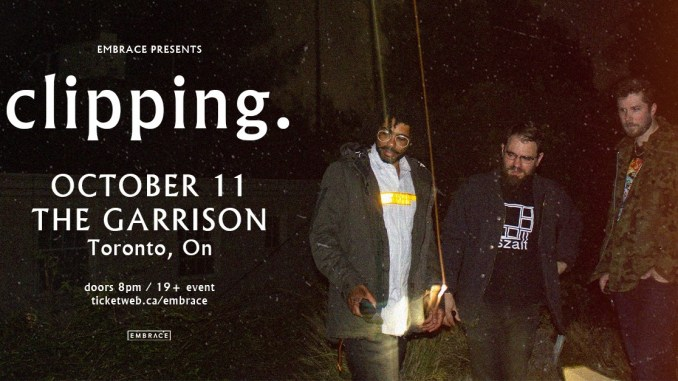 Clipping. Live The Garrison flyer