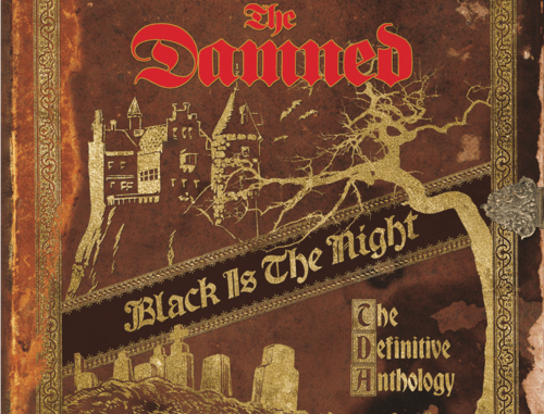 The Damned Black Is The Night cover artwork