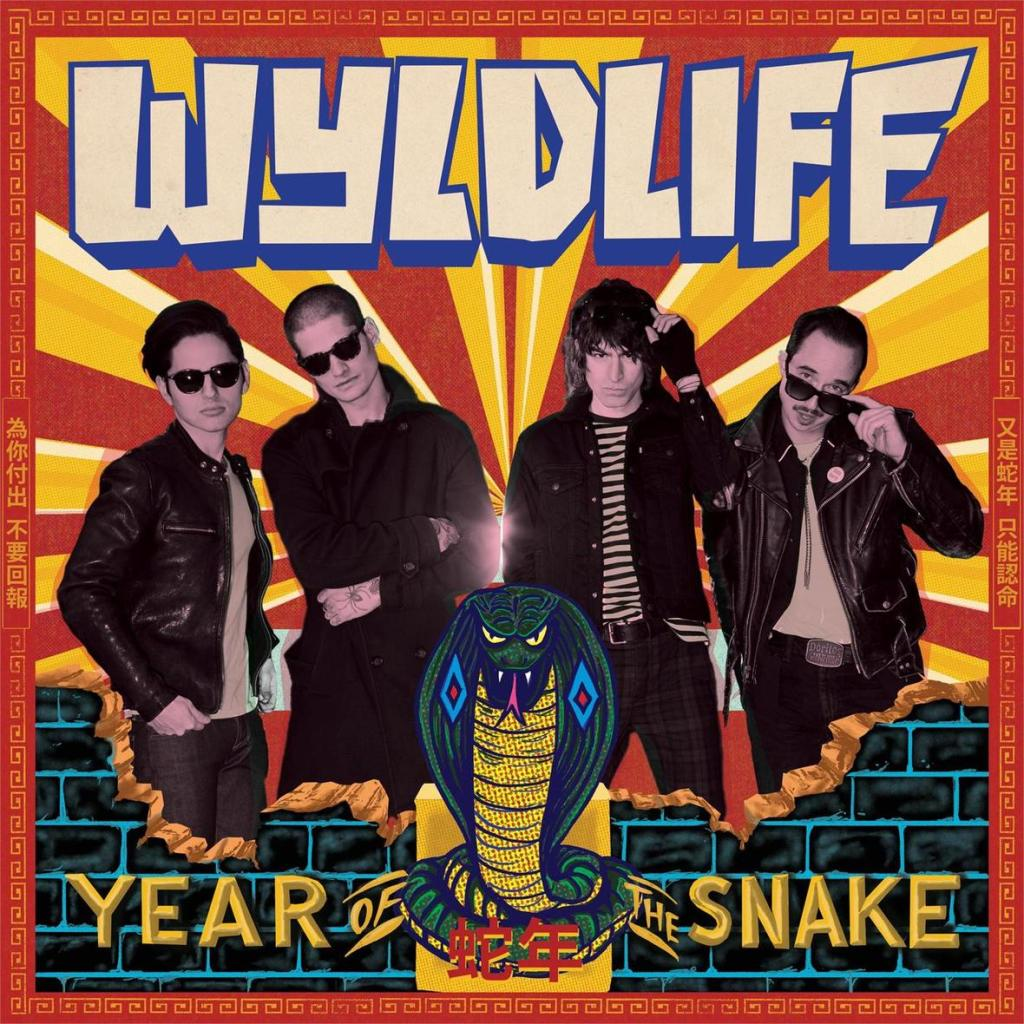 Year of the Snake WYLDLIFE cover artwork