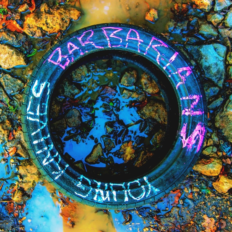 Young Knives Barbarians cover artwork