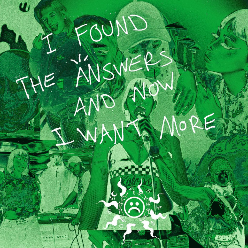 TOKKY HORROR 'I Found The Answers And Now I Want More' EP artwork