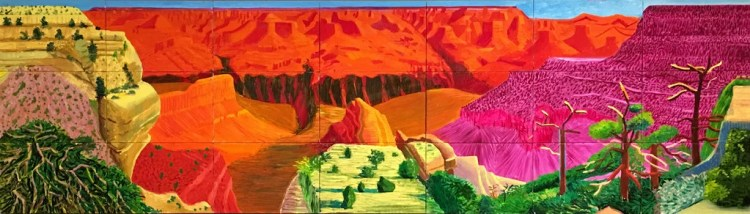 David Hockney, A Bigger Grand Canyon