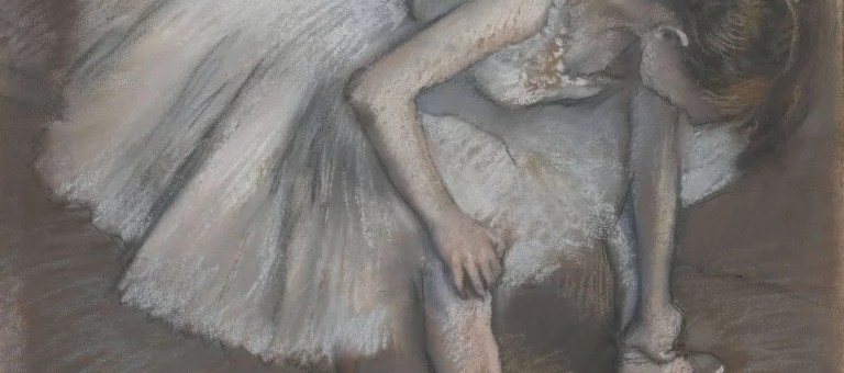 Danseuse assise, Edgar Degas