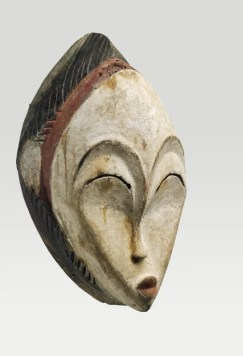 Masque anthropomorphe, Gabon