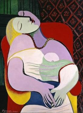 Pablo Picasso, «Le Rêve» (coll particulière), 1932. Huile sur toile. Collection privée de Steven Cohen © Droits réservés © Succession Picasso 2017