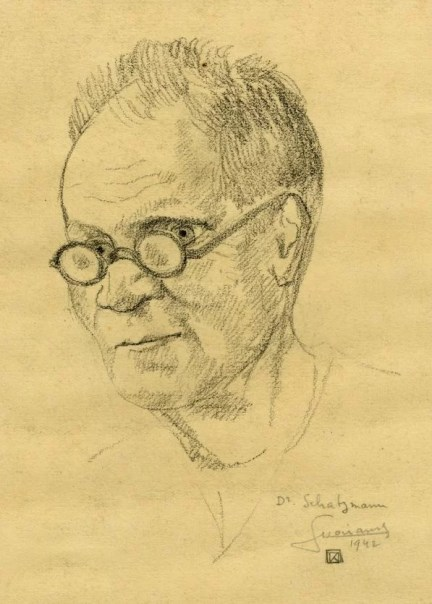 Georges Horan-Koiransky, Portrait du Dr Schatzman