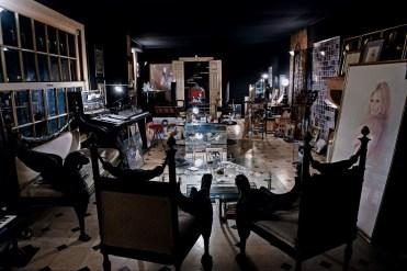 Grans salon du rez-de-chaussée © Photographie : Tony Frank