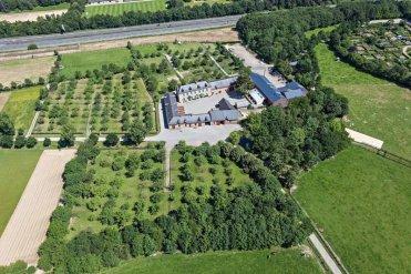 Vue aérienne de l'Écomusée du pays de Rennes © DR