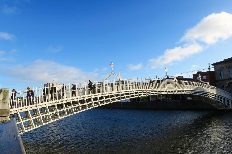 2 days in Dublin - Liffey River