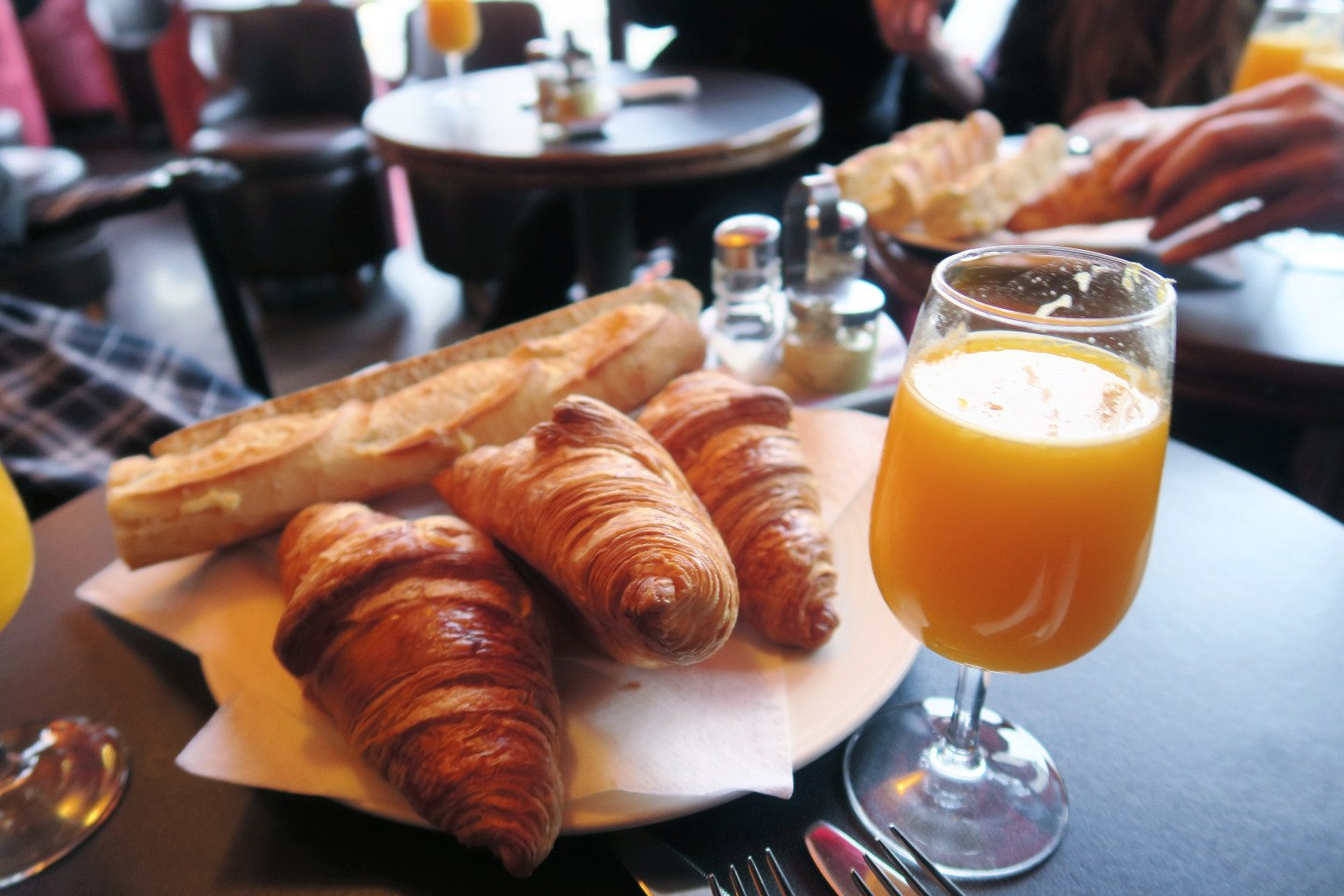 2 days in Paris - breakfast