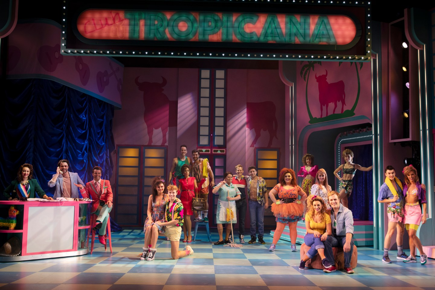 Club Tropicana Musical review