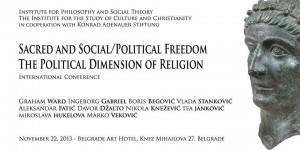 "Научни скуп ""Sacred and Social/Political Freedom"""