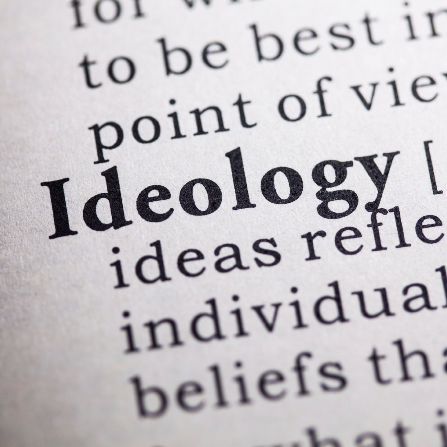 Beyond Good Old-Fashioned Ideology Theory, Part One19 min read