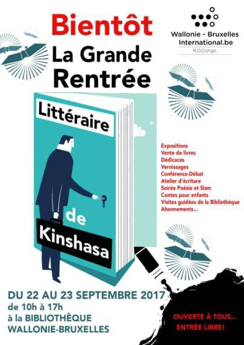 la grande Rentrée Littéraire de Kinshasa