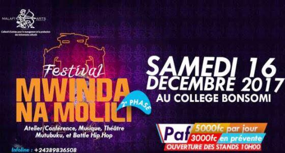 Mwinda Na Molili, programme du festival