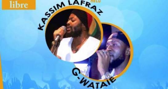 Gyslain Wataie et Kassim Lafraz au quartier marin