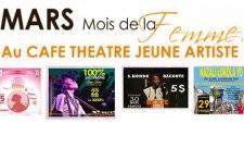 Le mois de la femme au Café Théâtre de Jeune Artiste