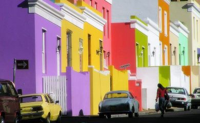 Bo-kaap colourful houses cape malay