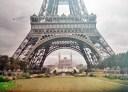 La Tour Eiffel. Photo from Paris 1914: http://www.paris1914.com/2012/07/tour-eiffel.html