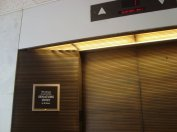 Strangely, there wasn't an elevator for management consultants only (taken inside a Senate building)