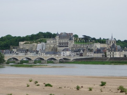 The chateau of Amboise, France
