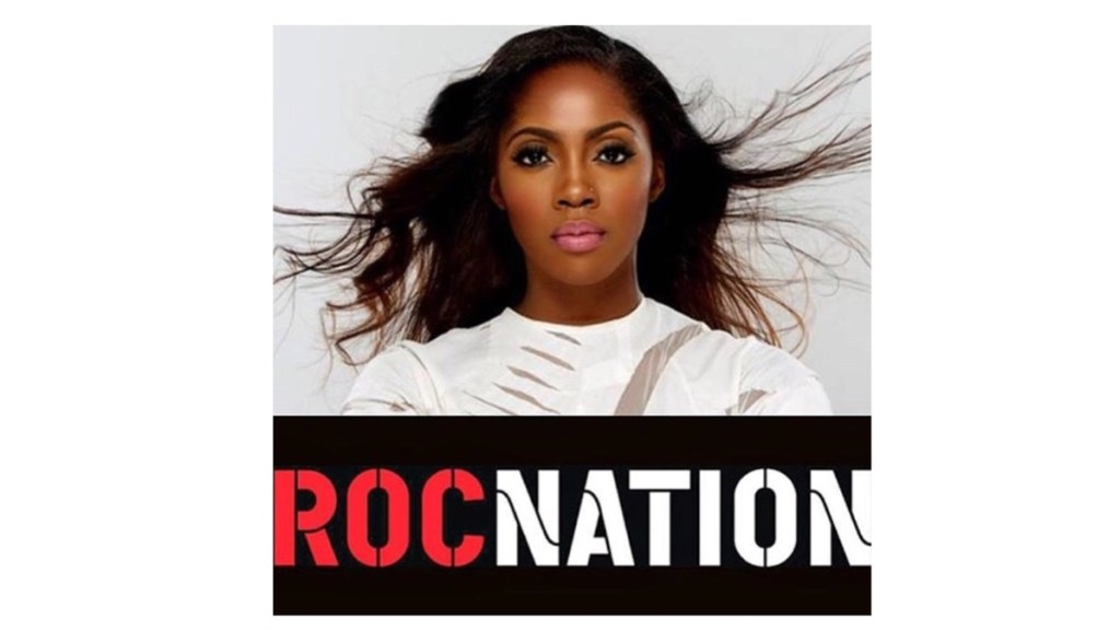 Tiwa Savage Roc Nation performs at ESSENCE's Black Women in Music Event