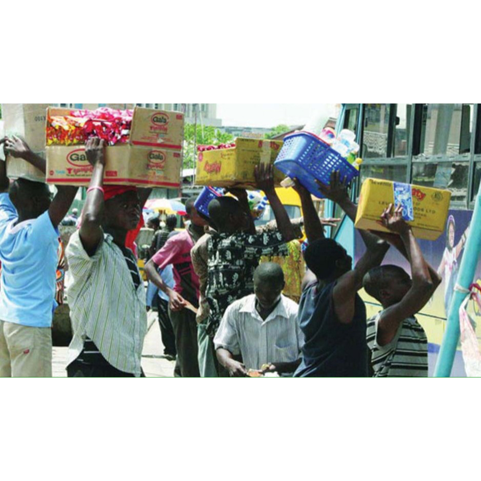 Ambode ban on hawkers in Lagos