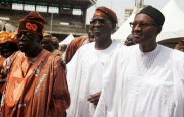 Fashola, Tinubu and Buhari