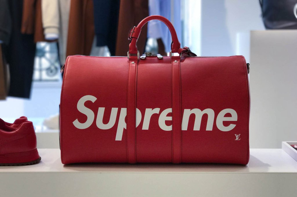 The Supreme x Louis Vuitton Bags are available for pre-order