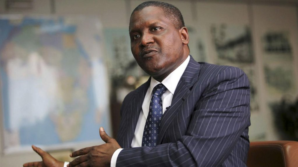 aliko dangote expands heavily into tanzania