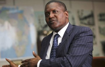 aliko dangote expands heavily into tanzania