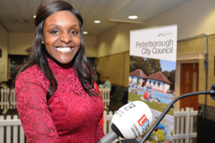 Fiona Onasanya, MP of Peterborough, Secured 48.1% of vote. (Labour)