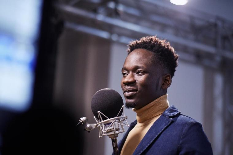 Watch Mr Eazi As He Takes The Detty Wave to James Corden