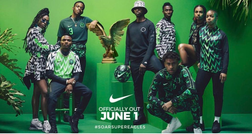 No More BS, The Nigerian World Cup Merch Goes On Sale on June 1st