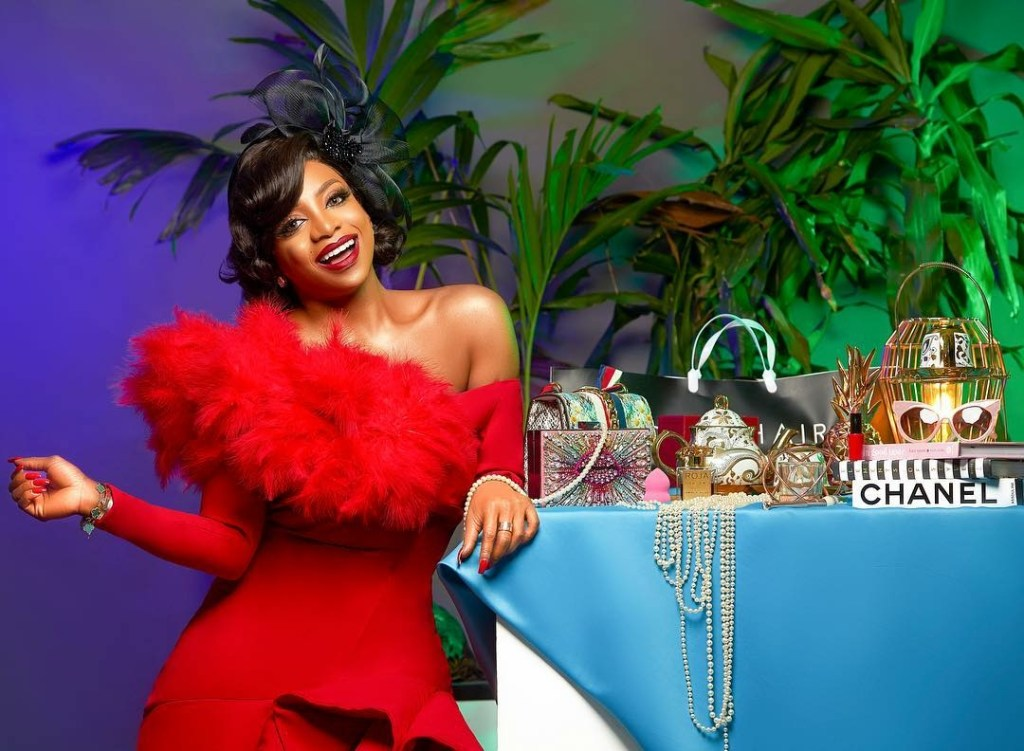 SlayPerUsual : Chioma 'Good Hair' Ikokwu's Birthday Shoot!