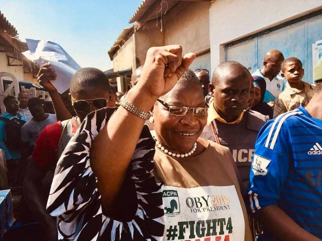 Oby Ezekwesili Withdraws From Presidential Elections