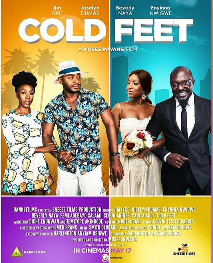 Moses Inwang's 'Cold Feet' is now streaming on Showmax.