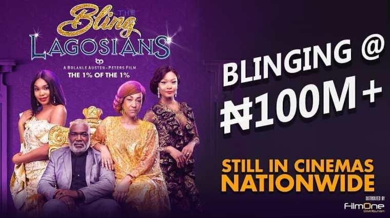 the bling lagosians ₦100 million grosser