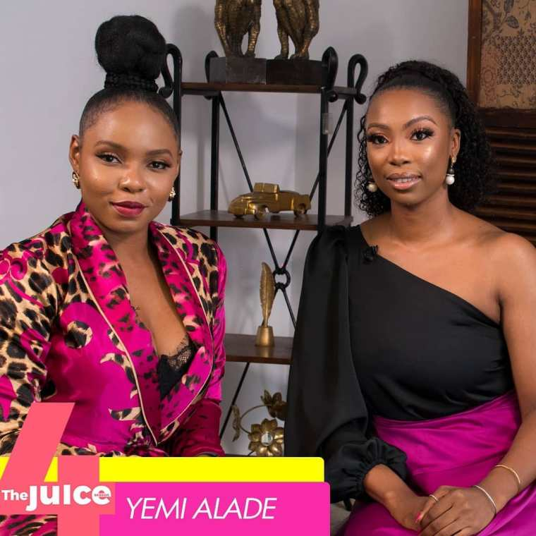 Yemi Alade Ndanitv the juice