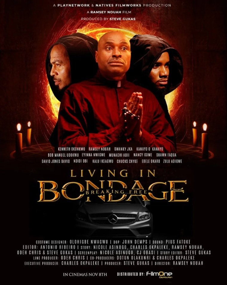 Living in Bondage: Breaking Free's ₦25.8 Million Opening Weekend is Nollywood's Highest in 2019