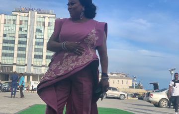 Sola Sobowale best actress in a leading role 2019 AMAA WINNERS KING OF BOYS