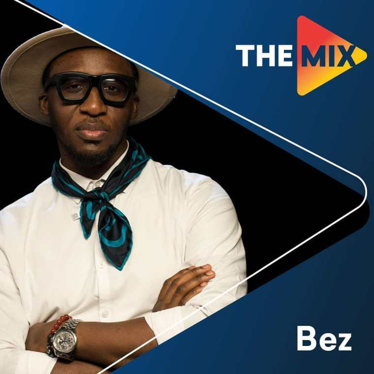Watch Bez Idakula on Ndanitv the mix