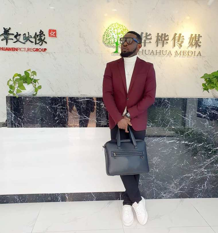 30 Days in China Ay signs Huge Deal with Chinese company, Huahua media